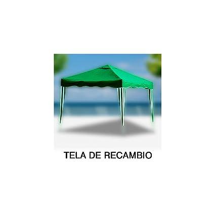 Papillon 8043624 - Tela Recambio para pergola Plegable, Color Verde