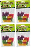 (4 Pack) Ware Small Rice Pops Small Animal Treats (Each Pack Contains 12 Treats / 48 Treats Total)