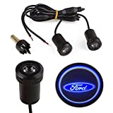 Sedeta 2pcs Car Auto LED Bulb Door Welcome Courtesy Logo Projector Light Lamp for Ford