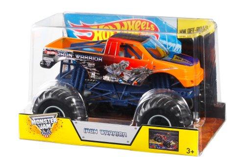 Hot Wheels Monster Jam Iron Warrior Die-Cast Vehicle, 1:24 S