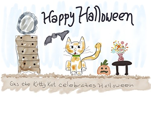 Gus the Kitty Kat Celebrates Halloween (Gus Halloween Costume)