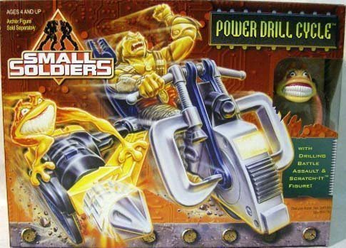 UPC 076281551760, Small Soldiers Power Drill Cycle