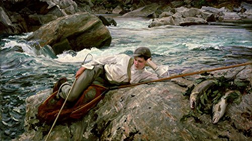 The Museum Outlet - John Singer Sargent - On his Holidays, Norway - Poster Print Online Buy (40 X 50 - Shopping Norway Online