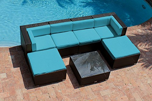 akoya wicker collection set of outdoor patio furniture