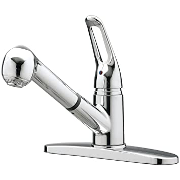 Aqualife Kitchen Faucet Single Handle - Detachable Head with Spray ...