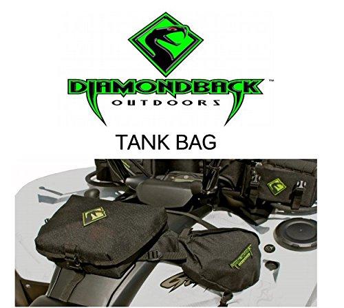 Diamondback Outdoors Tank Bag -- Saddle Bag -- Black