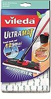 Vileda 10919 UltraMat Wischbezug - für saubere und streifenfreie Böden - auch...