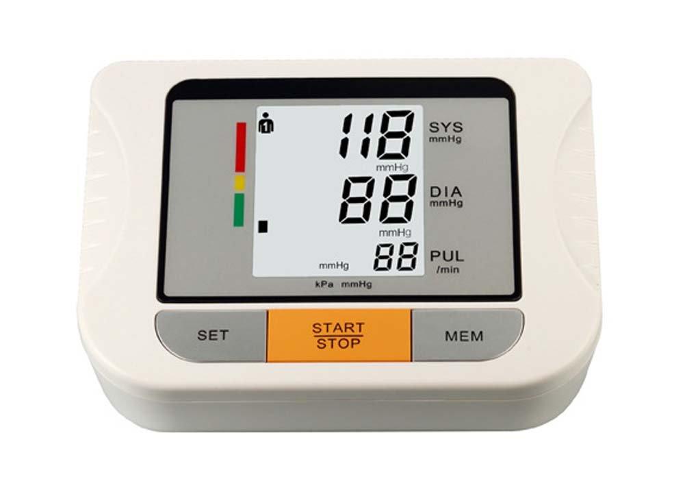 zrjnbpm Microcomputadora BPM 08087 inteligente brazo monitor de presión arterial Home sphygmo Manómetro Medical Grade sangre Impresión de instrumento Padres ...