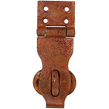 Set Of 4 Rusted Chest Trunk Hasp 4 Inches Rust Finish