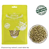 Elitea 3oz Honeysuckle Tea Wild Lonicera Japonica Loose Buds Dried Flower Herbal Tea Jin Yin Hua 100% Natural Healthy