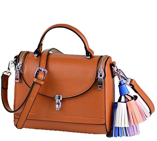 Bolsos De Mujer Korean Crossbody Bags Women's Tote Bags marrón