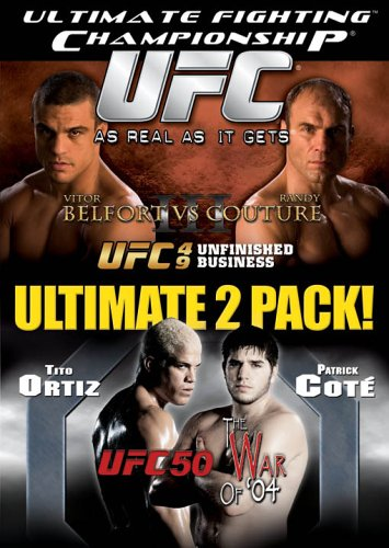 - Ultimate Fighting Championship, Vol. 49 and 50: Unfinished Business/The War of '04