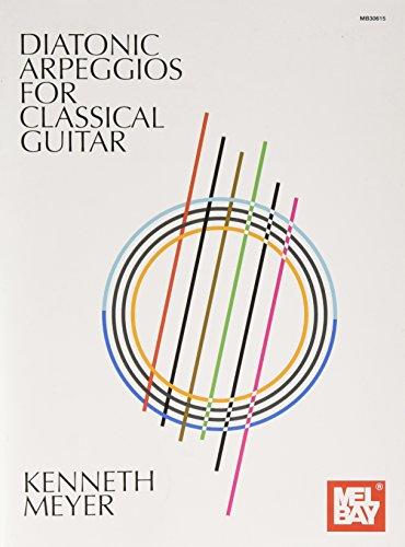 Diatonic Arpeggios for Classical Guitar [Meyer, Kenneth] (Tapa Blanda)