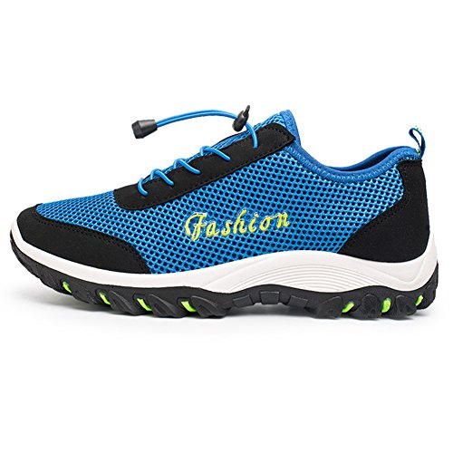 Mesh Breathable Mountaineering Men's Trekking Shoes Hiking Sport Top fereshte Sapphire Outdoor Low xUFqw