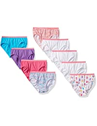 Hanes Big Girl's ComfortSoft 9 Pack Low Rise Brief