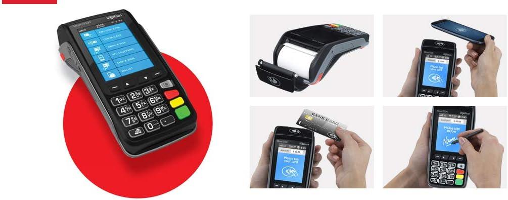 57 x 40 Thermal Credit Card PDQ Terminal Till Roll Receipt Paper 4 Box 80 Rolls 57 x 40 x 12.7mm Core 57x38 Fit Ingenico Move 3500