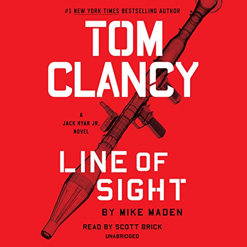 Tom Clancy Line of Sight: Jack Ryan Jr, Book 4 cover