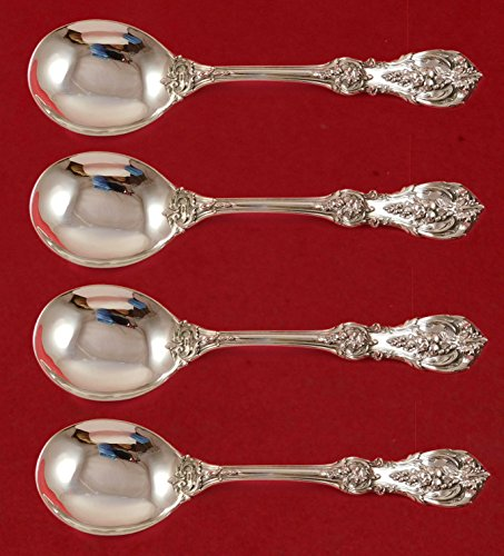 - Francis I by Reed and Barton Old Sterling Silver Gumbo Spoon 4-piece Set 8