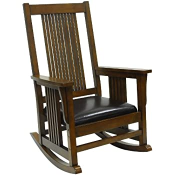 Carolina Chair And Table Chestnut RTA Deluxe Mission Rocker