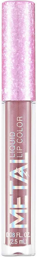 Lápiz labial mate MISS ROSE 12 Color Star WOZOW Fácil para colorear lápiz labial Maquillaje de labios: Amazon.es: Belleza