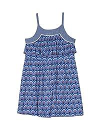 Nautica Vestido de Moda con Tiras Finas para niñas pequeñas