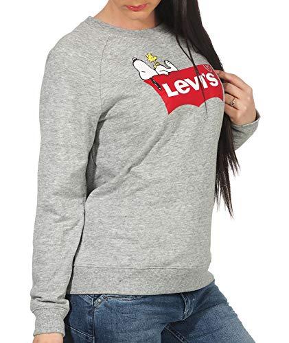 C Peanuts con Levi's donna cappuccio T3 29717 Felpe da Hsmk PYTzAn