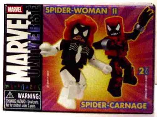 Marvel Minimates Series 10  Spider-voiturenage & Spider-femme 2 by Diamond Select