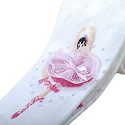 Taiycyxgan Girls Cotton Leggings 1-10T Ballet Tights Stocking Panties Socks 3 Pack 1-3 Years
