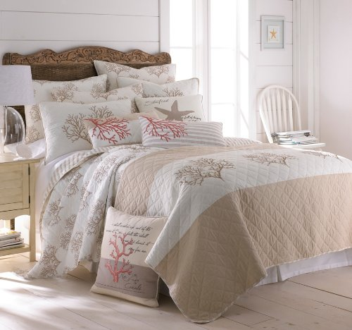 Coral-Embroidered-Beige-Quilt-Set-Tan