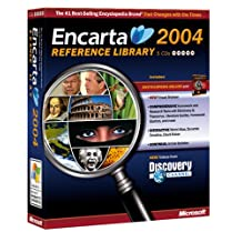 Microsoft Encarta Reference Library 2004 (Small Box)