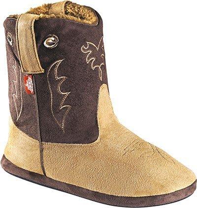 "Stars & Stripes Boot ""Fluffy"" cognac/braun Größe 36/37"