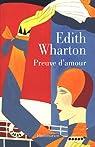 Preuve d'amour par Wharton