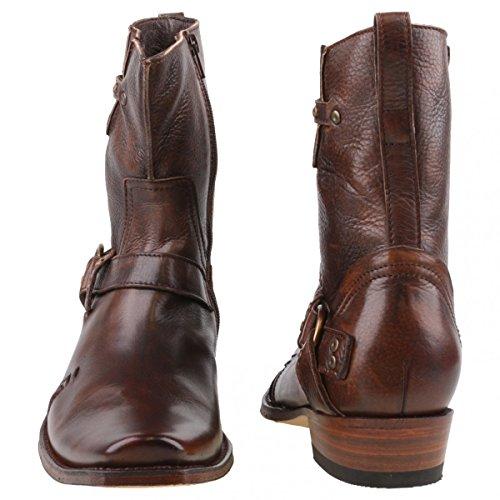 Sendra Biker Boots 8923 Braun Braun