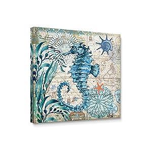 51RZHDGUHXL._SS300_ Seahorse Wall Art & Seahorse Wall Decor
