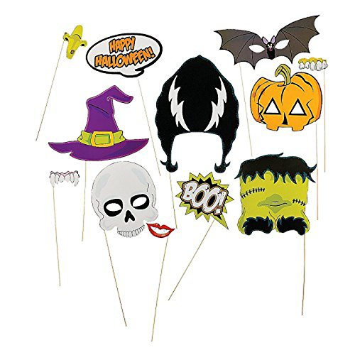 Halloween Stick Photo Booth Props (1 Dozen)