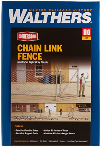 Walthers Cornerstone Chain Link Fence Toy