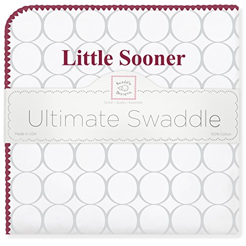 SwaddleDesigns Ultimate Swaddle Blanket, Made in USA, Univer