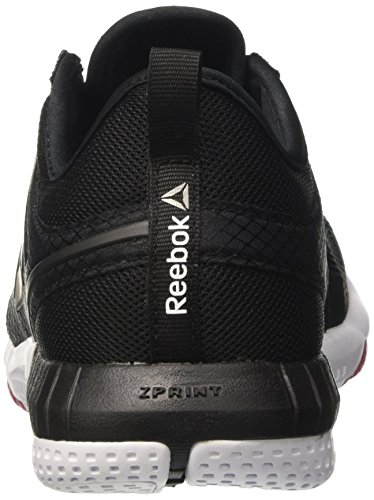De Craze Zprint pewter pink white Femme Noir 3d black Course Chaussures coal Reebok AtCqA