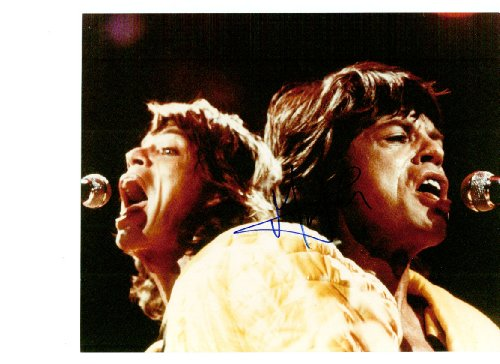 Mick Jagger 8 x 10 Celebrity Photo Autograph from Box Office Photos