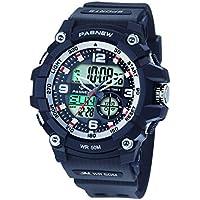 [Patrocinado] Pasnew - Reloj deportivo para hombre con alarma, resistente al agua, cronómetro, luz multifuncional