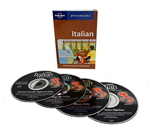 Learn to Speak Italian Language (4 Audio CD Set w/Phrasebook) Listen in Your car by Unknown