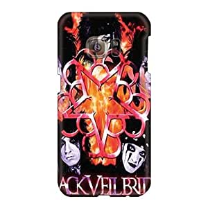 Samsung Galaxy S6 AoI2967LEIv Support Personal Customs Nice Black Veil Brides Pattern Excellent Hard Cell-phone Case -case88zeng