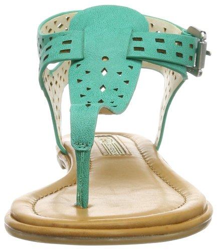 Buffalo London 313-4890 LEATHER PU - Cierre En T de material sintético mujer verde - Grün (GREEN 02)