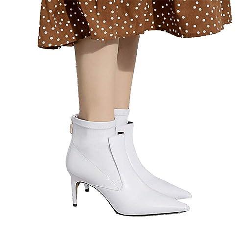 Shirloy Botas De Mujer Botines De Tacón Alto Botas Botines Zapatos ...