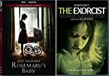 Rosemary's Baby DVD Movie Set The Miniseries & The Exorcist Horror Movie Double Feature