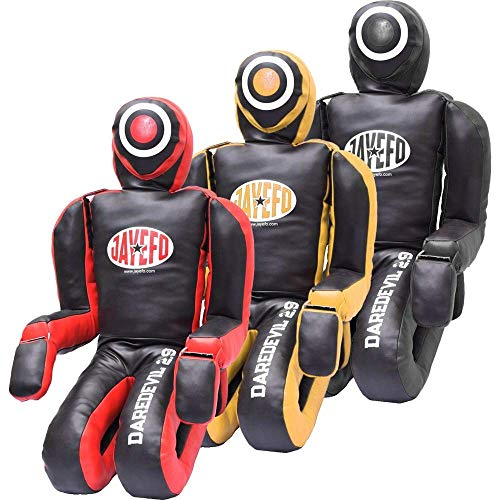 Jayefo VEGELEATHER Daredevil Dummy 6FT (Black/RED) by Jayefo (Image #3)