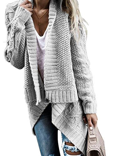 Lined Cardigan Sweater - 8