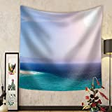 Niasjnfu Chen Custom tapestry Sandy Beach on the Island of Fuerteventura Canary Spain - Fabric Wall Tapestry Home Decor