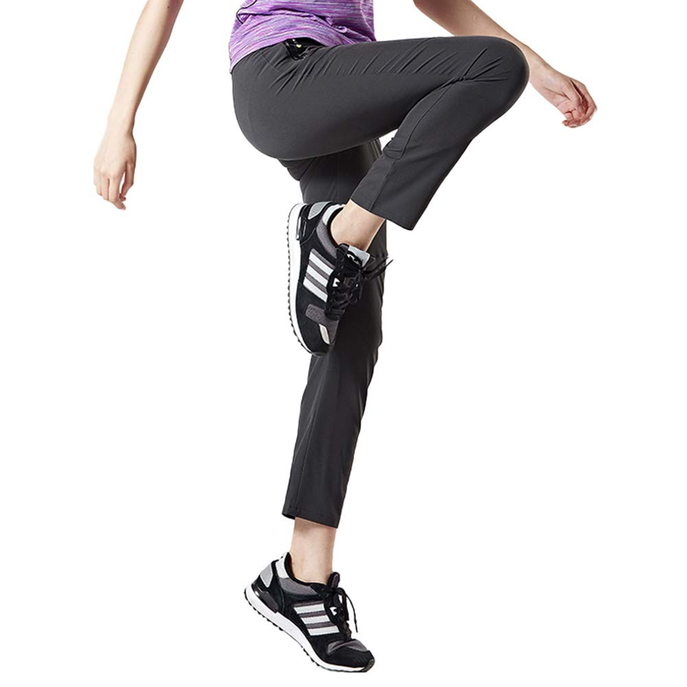 Elastici Leggeri Pantaloni da Trekking da Donna Impermeabili Traspiranti ad Asciugatura Rapida donhobo per Il Tempo Libero
