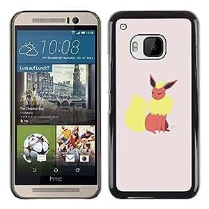 // PHONE CASE GIFT // Duro Estuche protector PC Cáscara Plástico Carcasa Funda Hard Protective Case for HTC One M9 / Elegante P0kemon /